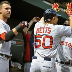 Orioles use 5-run sixth to beat frustrated Red Sox 5-3