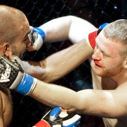 Dexter native Travis Bartlett suffers first-round MMA knockout loss