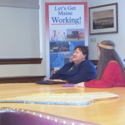 Indian Women's Mission visits with LePage, hopes for expansion