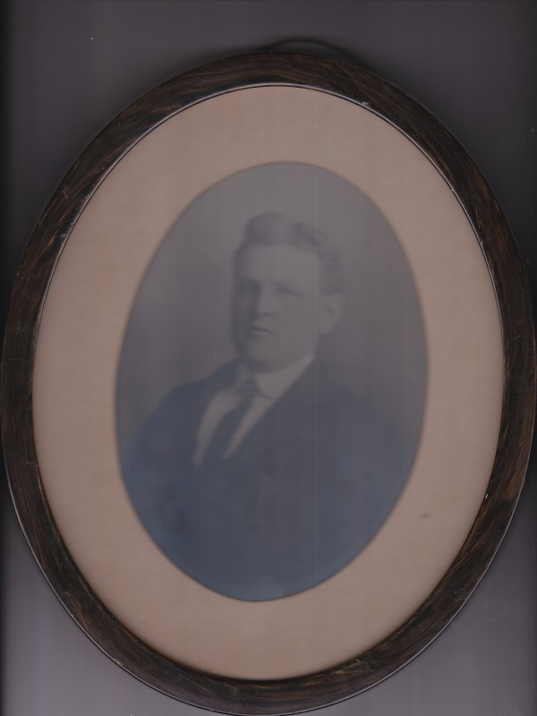 A family photograph of Bangor Fire Department Lt. Walter J. Morrill, one of two firefighters killed battling a blaze at Bangor Opera House in 1914.