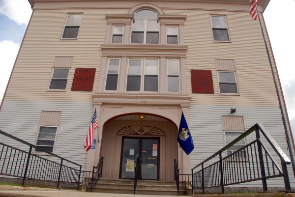 Town officials might soon move the town office from this Main Street building, as seen on Thursday, Aug. 21, 2014.