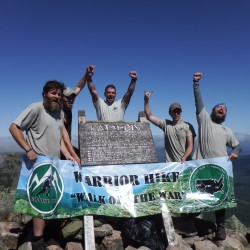 Veterans hike Appalachian Trail to heal from recent wars