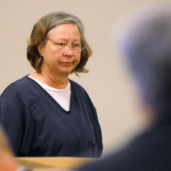 Woman charged with embezzling more than $400,000 from Bangor garden store pleads not guilty