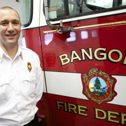 Wrapping up first month on job, new Bangor fire chief stresses education outreach