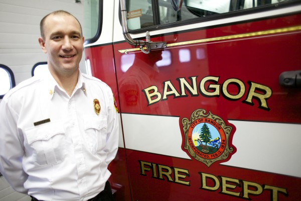 Scott Lucas, Bangor's fire chief, announced his resignation on Thursday.