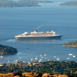 Bar Harbor sees record number of cruise ships in 2012
