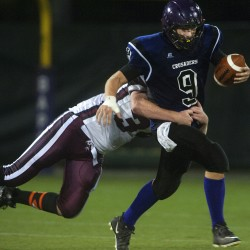 Junior QB Spencer leads Bapst football to 49-18 victory over Orono