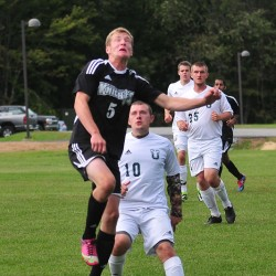 Strong offenses give UM-Machias soccer teams top billing in small college tourney