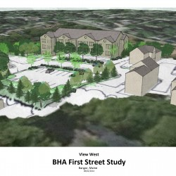 First Street apartment project gets initial approval from Bangor Planning Board