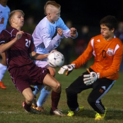 Knee injury ends versatile Bangor goalkeeper Harrigan's season