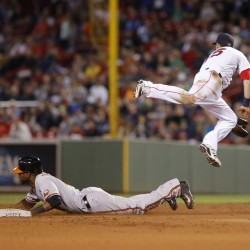 Davis lifts Orioles past Red Sox in 12 innings
