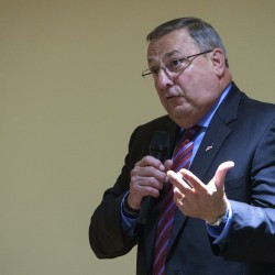 Watch Gov. Paul LePage's second inauguration