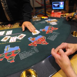 Racinos in black, but casinos bet on red