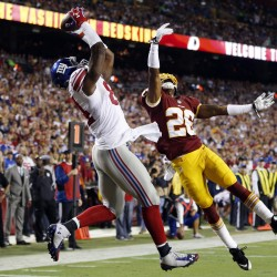 Redskins ride rookies past Giants and into NFC East race