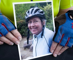 Cookie's Ride is an annual event in honor of longtime Jackson Laboratory employee Cookie Willems.