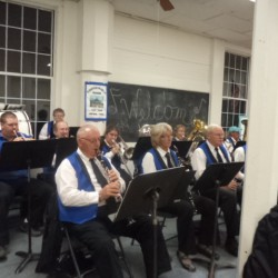 Recently we enjoyed the Cherryfield Band in Concert at the center.