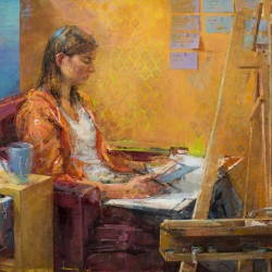 "Haynes Galleries presents ""Zoey Frank: Explorations & Discoveries"""