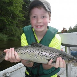 Trout worth $2,000 swims in Maine pond