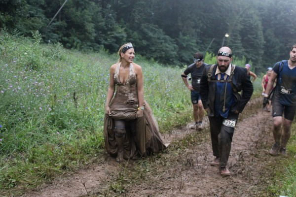 &quotI figure if our wedding aisle was 7.2-miles long and Steve had not gotten cold feet or taken off and still puts a ring on my finger at the end, we are pretty solid,&quot Jennifer Fisher said of their wedding at the Wintergreen Mountain Spartan Race on Aug. 23.