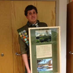 Jesse Guerin of Glenburn recently attained the rank of Eagle Scout.