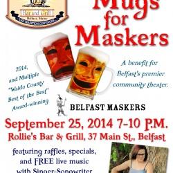 """""""Mugs for Maskers,"""" Sept 25 fundraiser."""