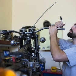 Winterport shop services, restores antique and classic Harleys
