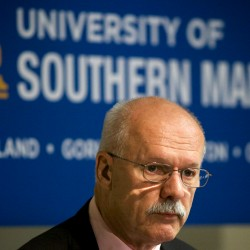 David Flanagan, interim president at USM