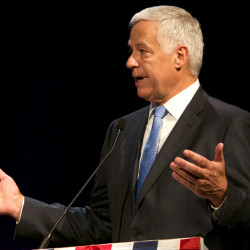Michaud says VA health care in Maine is 'something to be proud of' in speech at American Legion convention