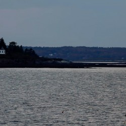 "The ship ""The Dash"" disappeared from view in the 1800s off the coast of Harpswell and never was found."