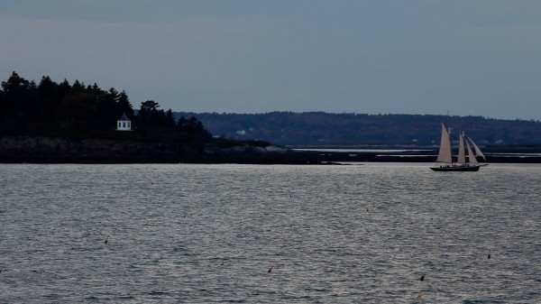 The ship &quotThe Dash&quot disappeared from view in the 1800s off the coast of Harpswell and never was found.