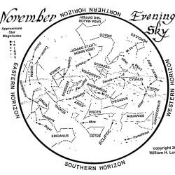 November 2014 Evening Sky.