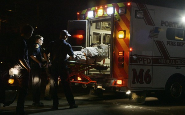 """A film team for Al Jazeera America''s """"&quotFault Lines""""&quot documentary series visited Portland to tape an ambulance team that responds to an opioid-related call nearly every day."""