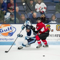 Maine men's hockey vs. U-New Brunswick, Oct. 2