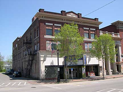 The Temple Theatre in Houlton as seen in this file photo.