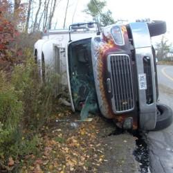 Responders lift wrecked van from pinned girl