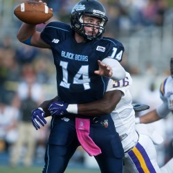 Dennis revels in return to field for UMaine