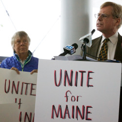 Why Maine's three-way race for governor could actually be a two-way boxing match