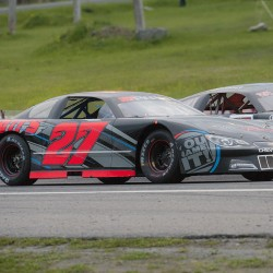 Sister-brother Shelby, Matt Kimball finish one-two in Street Stocks at Speedway 95