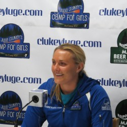Olympic luger to speak at her Augusta school