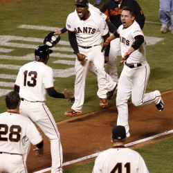 Giants' World Series share a record $377,003