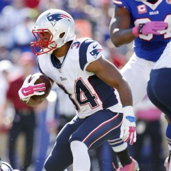 Patriots rely on group of RBs instead of workhorse