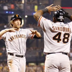 Giants on brink of Series crown after Game 4 win