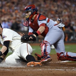 Scutaro provides spark as Giants even series with Cards