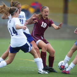 Stephenson paces Hampden girls past Mt. Blue