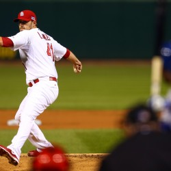Dodgers rookie lefty shuts down Cardinals in third game of NLCS