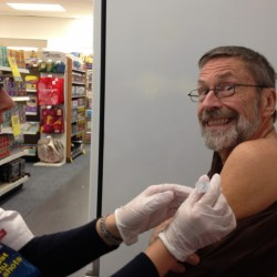 Time for flu shots, and some may get a tiny needle