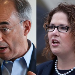 Democratic candidate Emily Cain, a state senator from Orono, and former state treasurer Bruce Poliquin, a Republican, are locked in a race that is much closer than many predicted.