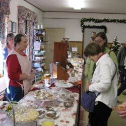 The Baked Goods table is a Winterberry Fair favorite