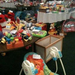 Hampden Children's Fair - a giant indoor annual yard sale May 3rd 9-12