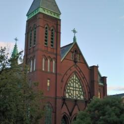 Former St. Dominic's Parish, home to the Maine Irish Heritage Center, Irish American Club of Maine and more.